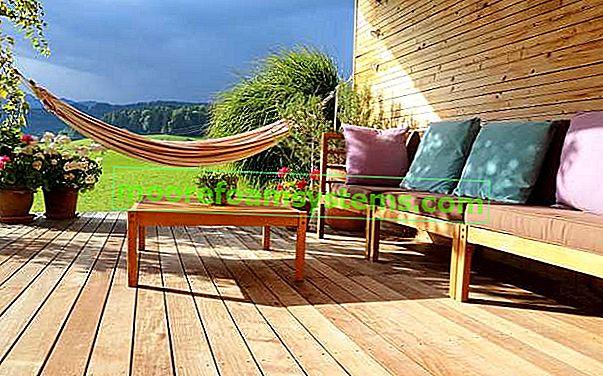 Drvene terase - aranžmani, cijene, mišljenja, mogućnosti, savjeti