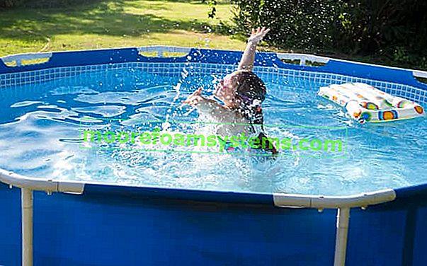 Vrtni bazeni u Castorama - nude pregled, cijene, recenzije, savjete o kupnji