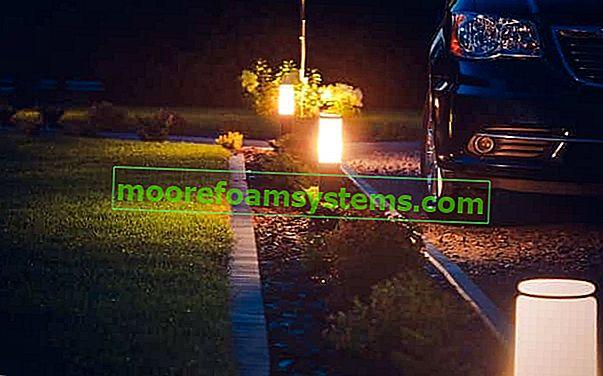 LED vrtna rasvjeta - pregled najboljih LED svjetiljki za vrt