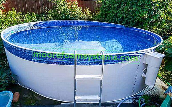 Bestway bazeni za vrt - vrste, dimenzije, recenzije, cijene, savjet za kupnju