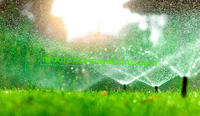 Vrtni sustav za navodnjavanje - vrste, cijene, sustavi, praktični savjeti