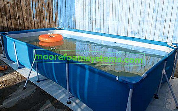 Regalni bazeni za vrt - vrste, cijene, pregledi, proizvođači, veličine