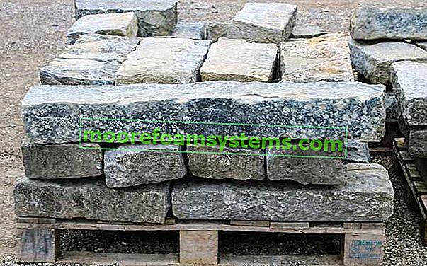 Granitna kocka - vrste, uzorci, boje, cijene, savjeti