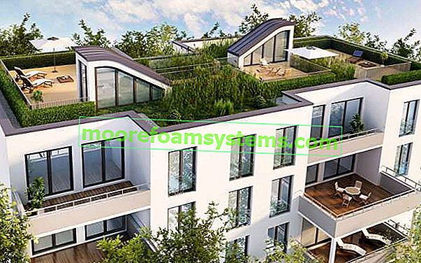 Zeleni krovovi - prednosti, prednosti i nedostaci postavljanja zelenih krovova