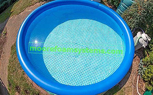 Ekspanzijski bazeni - vrste, cijene, mišljenja, vodeći proizvođači, savjeti