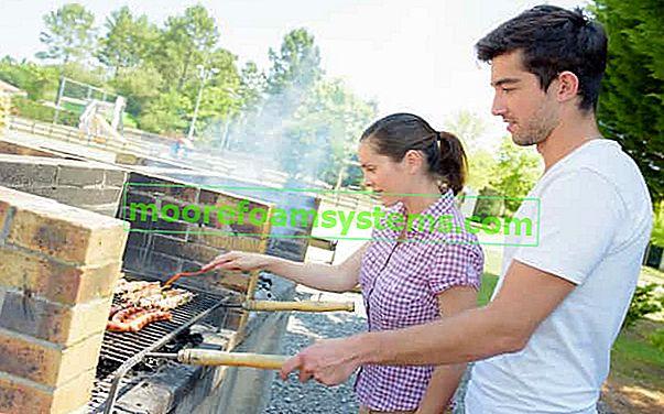 Vrtni roštilj - kako korak po korak izgraditi roštilj od opeke