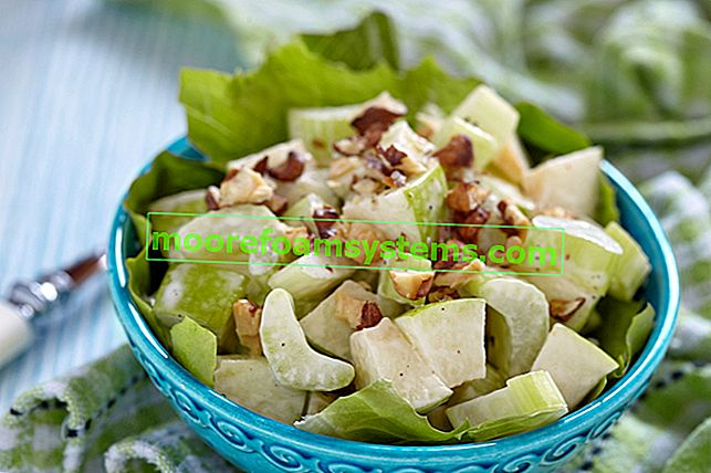 Zeller saláta - az 5 leggyorsabb recept