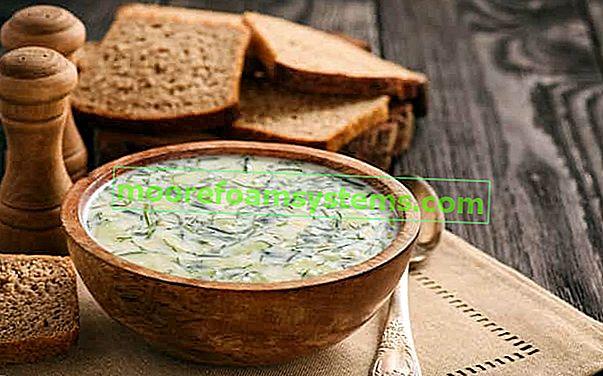 Korak po korak juha od svježeg krastavca - provjereni recepti