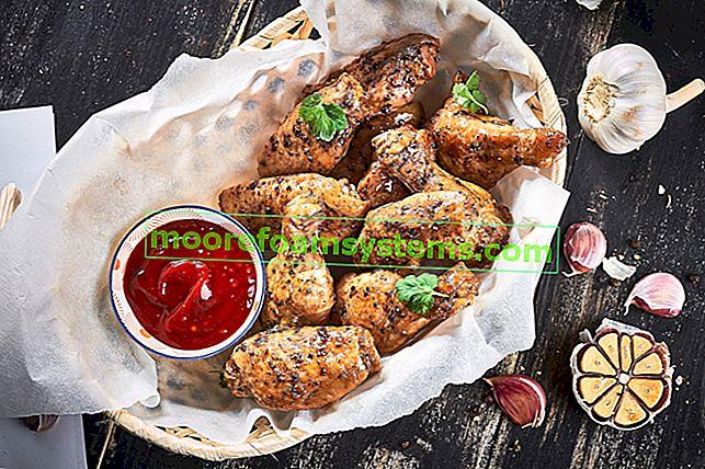 Marinada za krila s roštilja korak po korak - 3 brza recepta