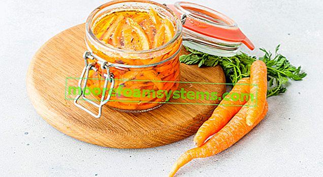 Kisela mrkva za zimu u staklenkama - 4 provjerena recepta