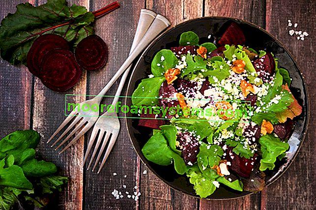 Свекольный салат - 5 лучших рецептов разных свекольных салатов