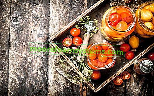 Prezerviranje od cherry rajčice - pogledajte najbolje recepte za prezerviranje za zimu