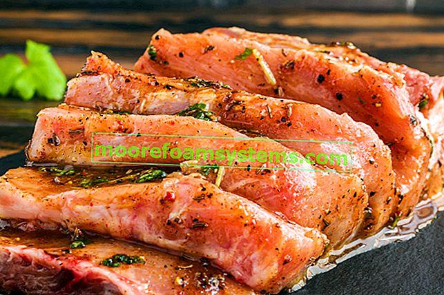 Marinada od meda od senfa - top 5 recepata