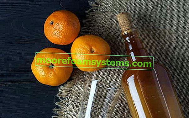 Tinktura mandarine - najbolji recepti za tinkturu mandarine s votkom