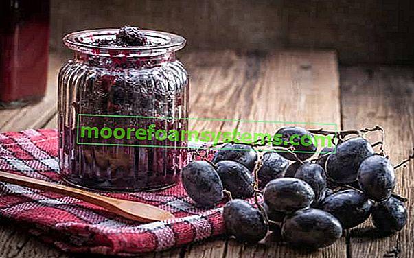Szőlőkonzervek - bevált receptek a szőlőlekvárra és a lekvárra