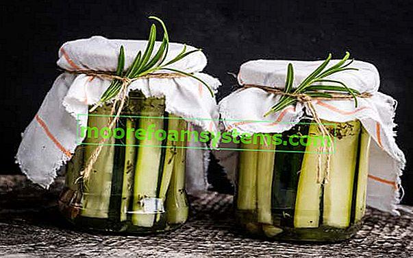 Cukkini konzervek - bevált receptek az üvegek télire való finom tartósításához