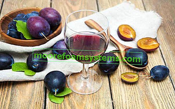 Szilvabor - bevált receptek, hogyan lehet szilva bort készíteni lépésről lépésre