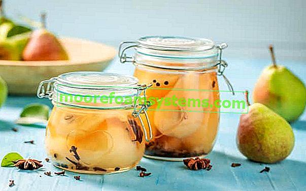 Konzerve od krušaka - provjereni recepti za žbuku od krušaka za zimu