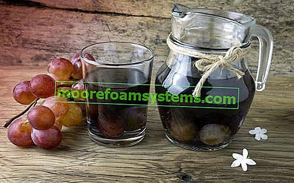 Kompot od grožđa - najbolji korak po korak recepti