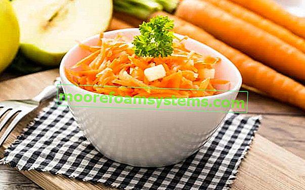 Salata od mrkve i jabuke - najbolji korak po korak recepti